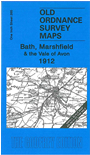 265  Bath, Marshfield & the Vale of Avon 1912