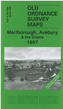 266  Marlborough, Avebury & The Downs 1897 - Coloured Edition