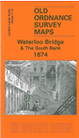 LS 7.74  Waterloo Bridge & South Bank 1874