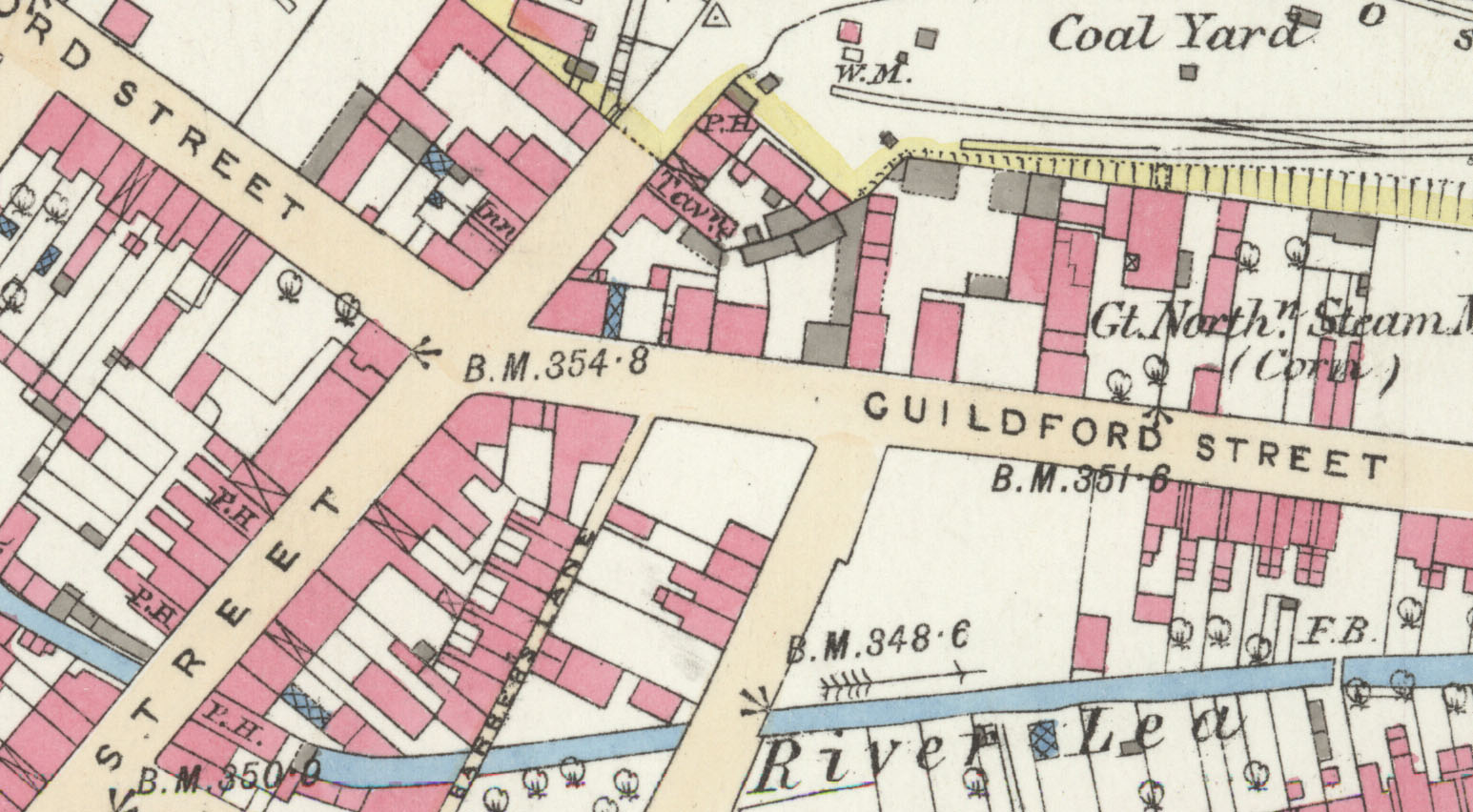 Special Offer:  Bd 33.05a & Bd 33.05b Luton 1879 (Coloured) & 1922