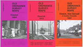Old Ordnance Survey Maps Newcastle /& Gateshead Tyneside 1894 Godfrey Edition New