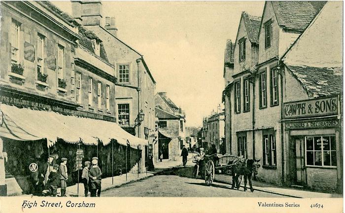 Old Ordnance Survey Map Cranborne Chase /& Map Berwick St John  1894 Sheet 314