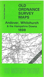283  Andover, Whitchurch & the Hampshire Downs 1898