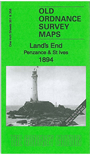 358/351  Land's End, Penzance & St Ives 1894