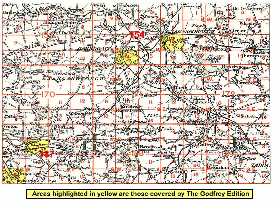 Old Maps of Harrogate history