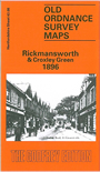 Ht 43.08  Rickmansworth & Croxley Green 1896