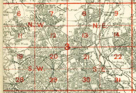 Old Maps Of Walthamstow - Old map shop london