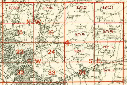 Old Maps Of Walthamstow - Old os maps