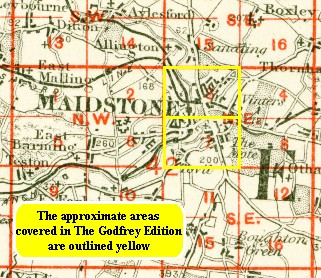 Old Maps of Maidstone Tovil history