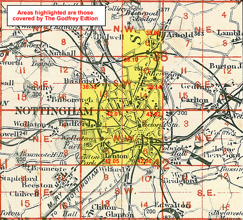 Old Ordnance Survey Map Newark Nottinghamshire 1900 Sheet 35.03  Brand New Map