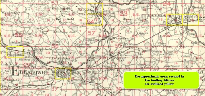 Old Maps Of Maidenhead Taplow - Old os maps