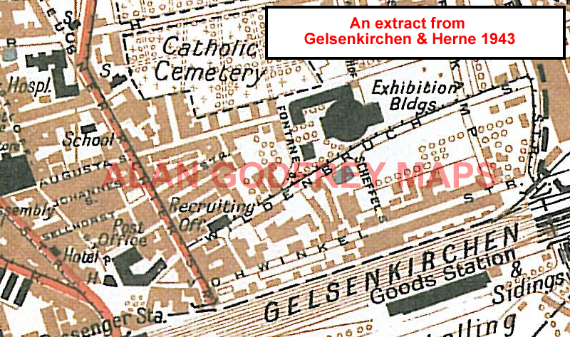 Gelsenkirchen Germany Map.Old Maps Of The Ruhrgebiet Cologne Essen Gelsenkirchen Dortmund