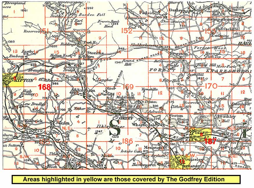 Map Of Skipton Old Maps of Skipton Map Of Skipton