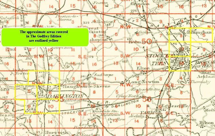 Old Maps of Darlington Cockerton