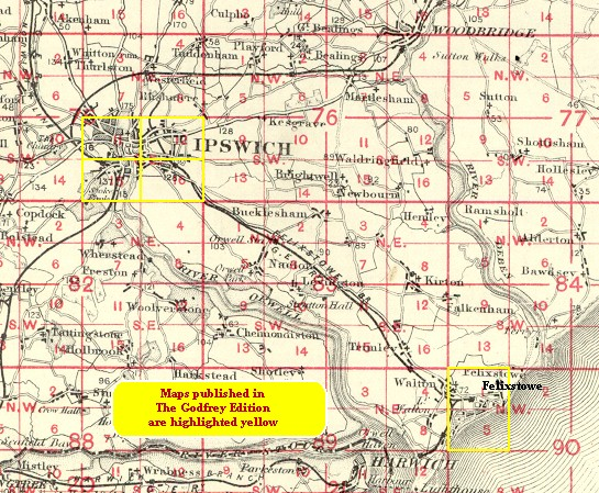 Ipswich Uk Map.Old Maps Of Ipswich