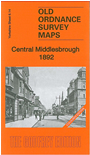 Y 6.14a  Central Middlesbrough 1892 (Coloured Edition)